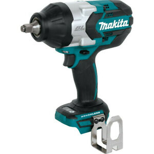 Makita-18V-LXT-Li-Ion-BL-1-2-in-Sq-Dr-Impact-Wrench-Tool-Only-XWT08Z-New