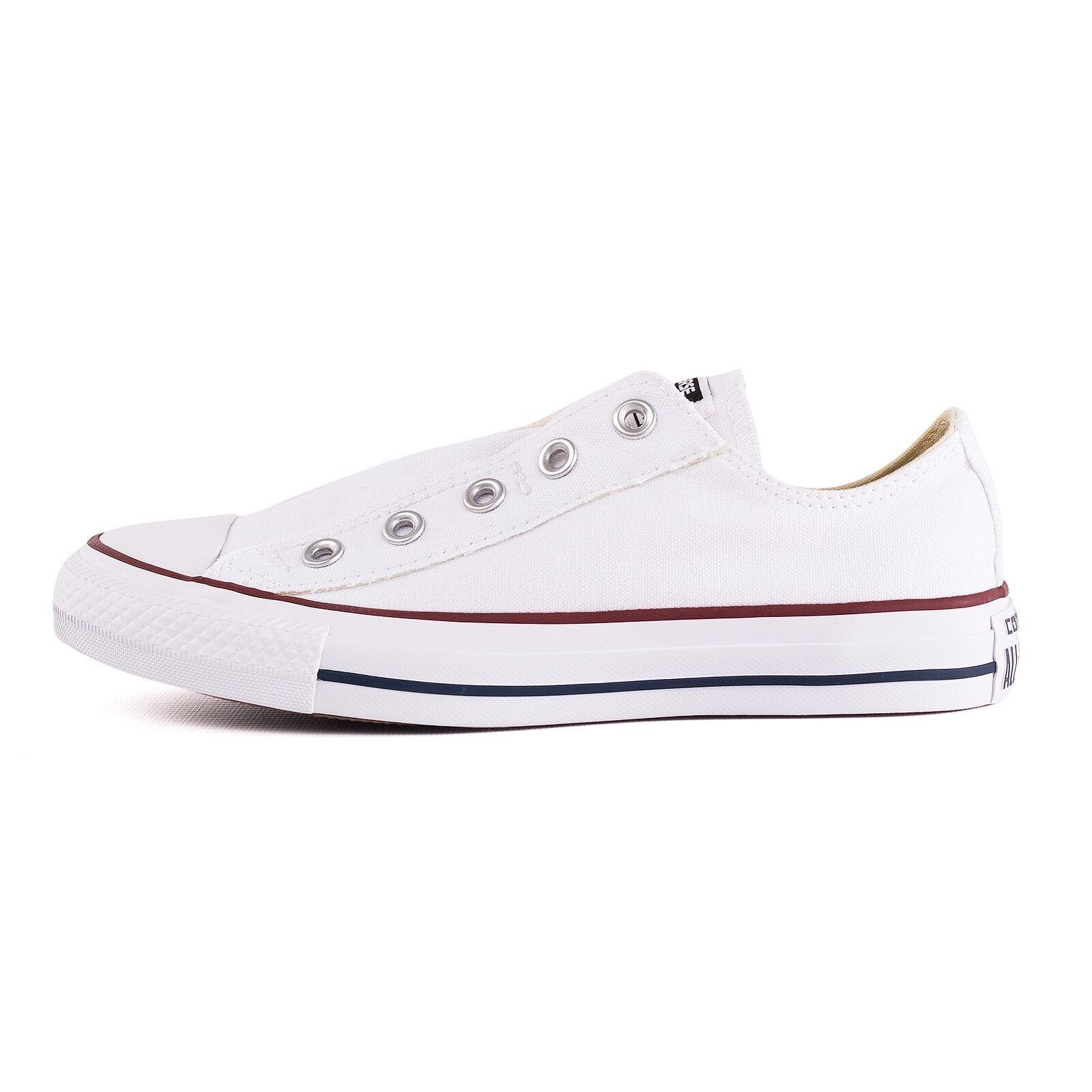 Converse CT AS Slip 51232 Schuhe Unisex Sneaker, Weiß, 51232 Slip 400104