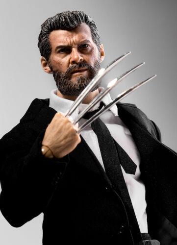 1//6 Logan Wolverine Custom Figure Full Set with Claws For Hugh Jackman X-MEN USA