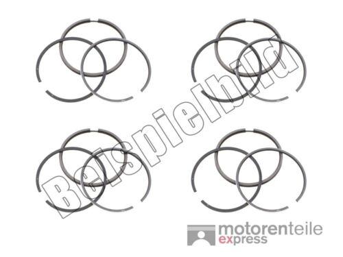 2115904 4x piston anneaux jeu//piston ringsatz STD AUDI SEAT SKODA VW 1.6 81,01 mm
