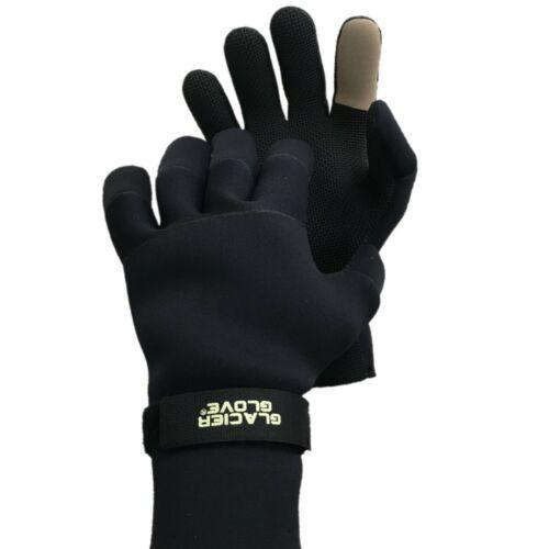 Glacier Glove Bristol Bay Gant Polaire Doublé Néoprène Imperméable Pêche Gants