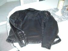 Ladie's Harley Davidson SOFT, SUPPLE Leather Jacket Medium, Waist length
