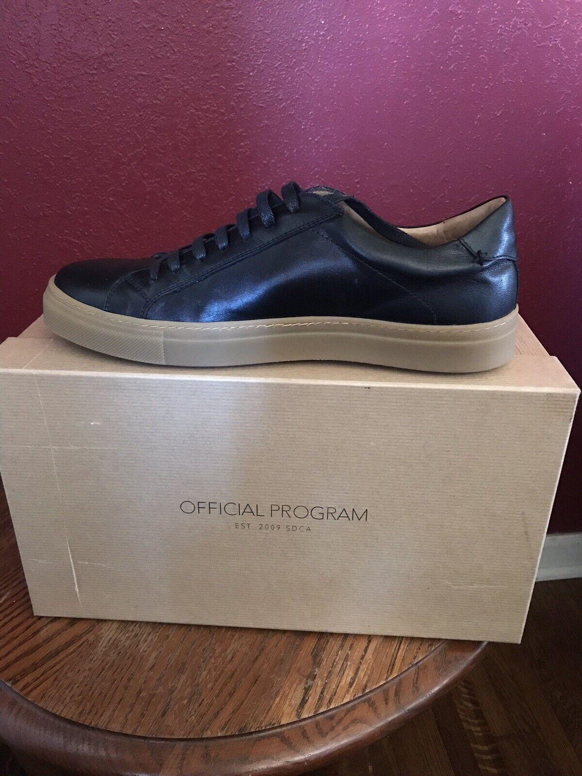 Official Program shoes Black 8.5 Mens