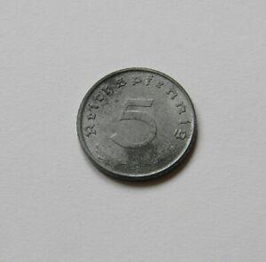 Aliado Tripulación: 5 Reichspfennig 1947D, J. 374 ,sin Circulación, II