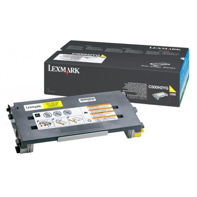 original Lexmark amarillo C500H2YG AMARILLO C500 X500 X 502 a-artículo