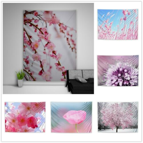 Plant Flower Tree Leaves Tapestry Art Wall Poster Hanging Sofa Table Cover