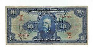10-mil-riz-Bresil-1942-r110d-p-39c-Brazil-billet