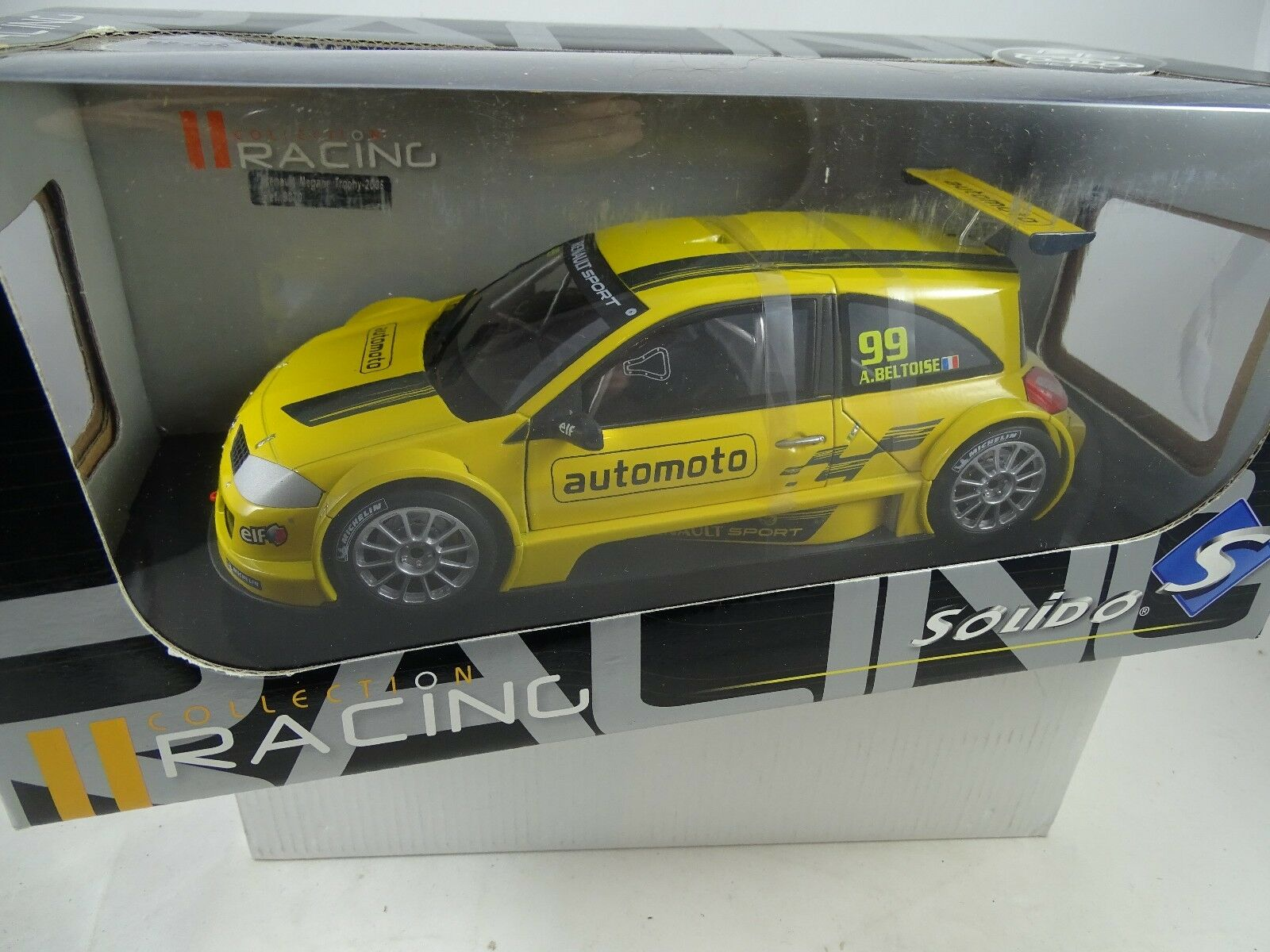1 18 Solido 35;151221 - Renault Megane Trophy A. BETOISE Gituttio Rarity