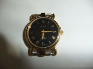 b898dd4c6a5 Image is loading WOMENS-GOLD-GUCCI-Swiss-Made-Luxury-3400-series-
