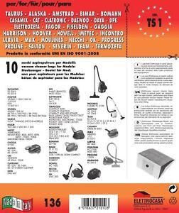 CONF-10PZ-SACCHETTI-HOWELL-COMPATIBILE-CON-I-MODELLI-INDICATI-NELLA-FOTO