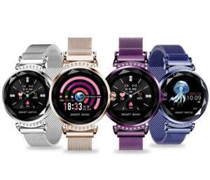 Puls Uhr IPS Sport Fitness iOS Android Huawei Smartwatch H2 IP67 Wasserdicht