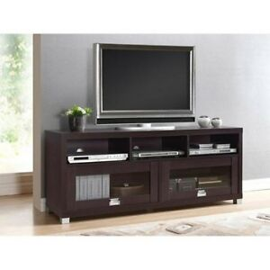 Image Is Loading TV Stand Entertainment Center Modern Wood 55 034