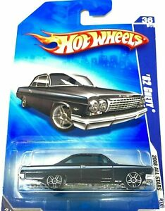Hot Wheels 2008 Tout Stars '62 Chevy Noir