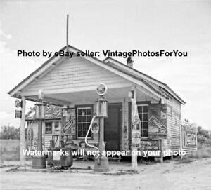 Details about Depression Sinclair Visible Gas Pump Station Coca RC Cola 7UP  NeHi Camel Photo