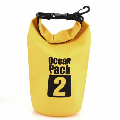 89B6 2 Color Waterproof Dry Bag Snorkeling Bag Canoe Outdoor Drifting Bag