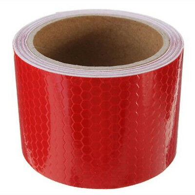 """2""""X10'3M Reflective Safety Warning Tape Film Sticker Conspicuity Tape Roll"""