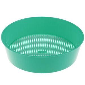 1pc-Plastic-Garden-Sieve-Riddle-Green-For-Composy-Soil-Stone-Mesh-Gardening-T-E