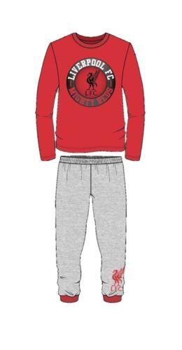 Kids Liverpool Pyjamas Pajamas Pjs Football Long Gift