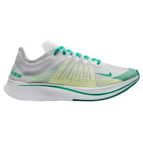 Nike Zoom Fly SP White Lucid Green Summit White Yellow AJ9282 101 Size 8-13