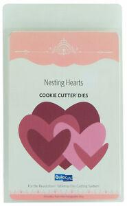 Quickutz-Cookie-Cutter-Metal-Cutting-Dies-Nesting-Hearts-Set