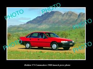 OLD-POSTCARD-SIZE-PHOTO-OF-GMH-1988-VN-HOLDEN-COMMODORE-LAUNCH-PRESS-PHOTO