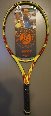 New Babolat Pure Aero 2019 Tennis Racquet Nadal Racket 4 3//8