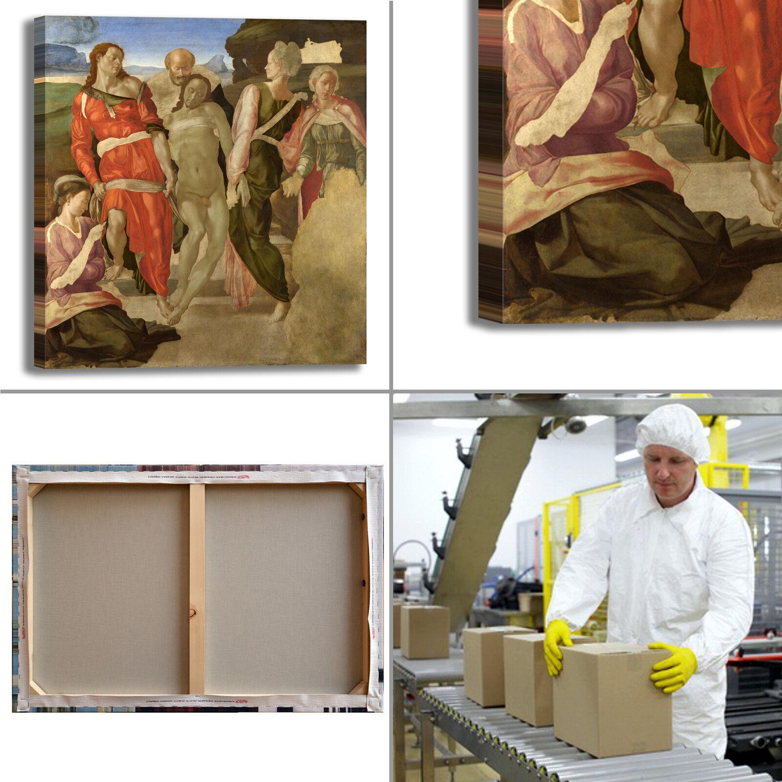 Michelangelo sepoltura design quadro stampa tela dipinto telaio telaio telaio arroto casa 2b0d97