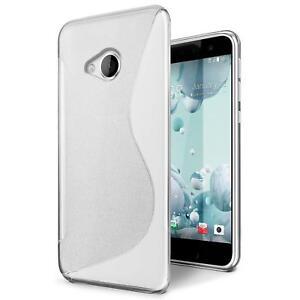 Handy-Huelle-HTC-U-Play-Silikon-Case-Slim-Cover-Schutz-Huelle-Tasche-Transparent