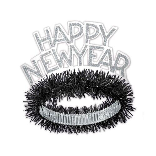 """Haarreifen /""""Happy New Year/"""""""