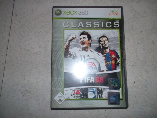 FIFA 08 -- Classics (Microsoft Xbox 360, 2008, DVD-Box) - Fußballspiel Fussball