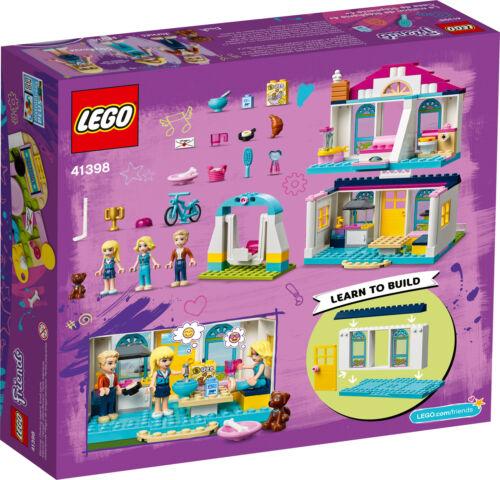 41398 LEGO Friends 4 Stephanie/'s House Role Play Playset 170 Pieces Age 4+