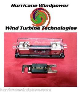 200 amp dc anl holder fuse inverter wind turbine wind. Black Bedroom Furniture Sets. Home Design Ideas