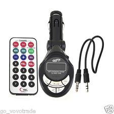 Car Stereo MP3 Player Wireless FM Transmitter Modulator USB SD CD MMC Remote XRC