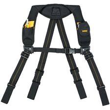 Dewalt Heavy-Duty Yoke-Style Tool Belt Suspenders