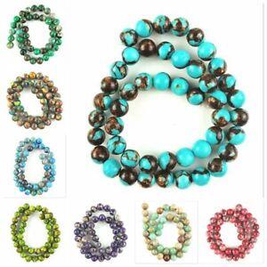 Wholesale-1stand-4-6-8-10mm-Mixed-Colour-Sea-Sediment-Jasper-Ball-Loose-Bead
