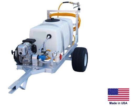 7 GPM 5 Hp 2 Wheel Trailer SPRAYER Commercial 150 PSI 50 Gallon Tank