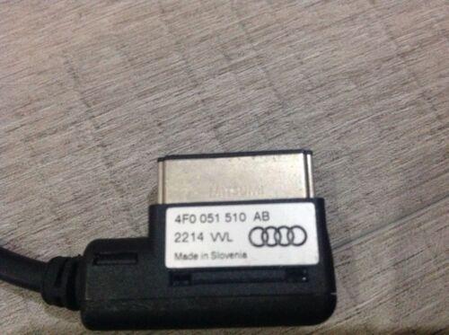 Plomo de música USB Interfaz AUDI 4F0051510 ab genuino de plomo