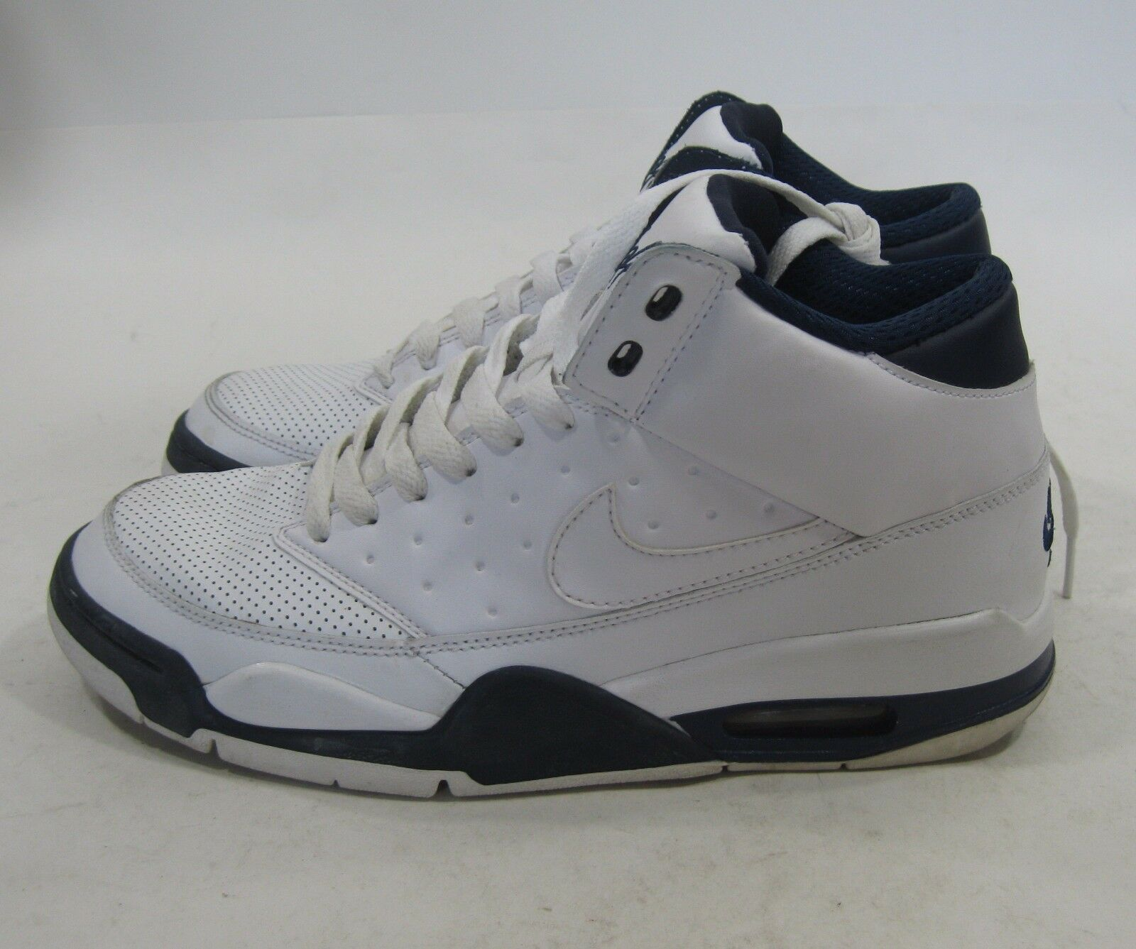 Nike Air Flight Classic 414967-103 White-Midnight Navy Size- 7.5