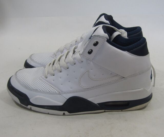 official photos 2d7d2 c0f31 Nike Air Flight Classic 414967-103 White-Midnight Navy Size 7.5