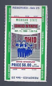 1969 Ncaa Michigan State Spartans Ohio State Buckeyes Full