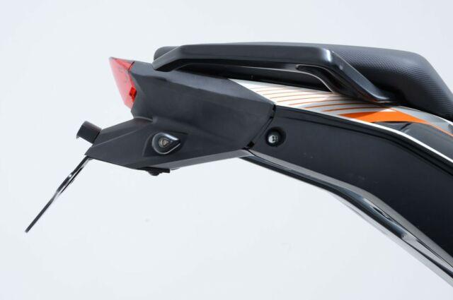 R&G SUPORT DE PLAQUE COMPATIBLE POUR KTM 125 DUKE 2013 LP0138BK NOIR