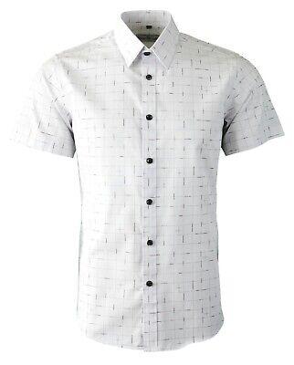 PAISLEY SHORT SLEEVES MENS SUMMER CASUAL DRESS MOD 60s SHIRT NOW £16.99 463