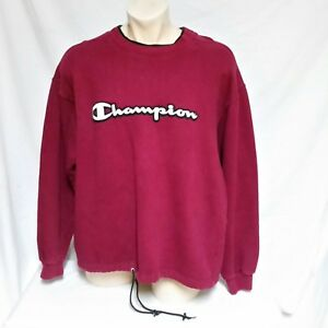 0d5b88d37a43 Image is loading VTG-Champion-Sweatshirt-Pullover -Spell-Out-Embroidered-Sportswear-