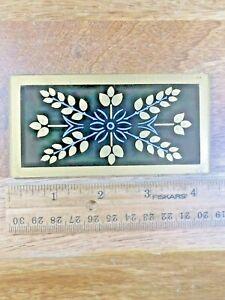 Reverse Painted Clock Door Glass (K5200)
