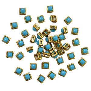 6MM Jewellery Making Kundan Stone Kundans Embroidery and Jewelry Making