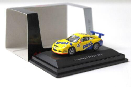 1:87 Schuco Porsche 911 GT3 Carrera CUP 2006 DELL #30 NEW bei PREMIUM-MODELCARS