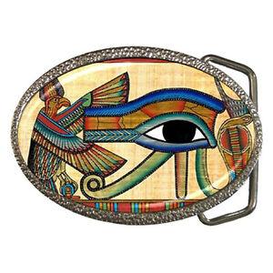 Red Egyptian God Eye of Ra Horus Cuff Beanie Knit Cap Ancient Egypt Sun God Goth