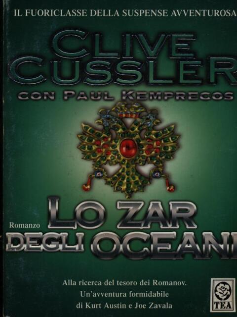 Lo Zar Der Ozeane Cussler Clive Tea 2007 Teadue
