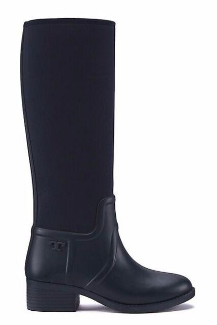 f880631a702c Tory Burch April rain boots Black women s size 7 b 190041246564