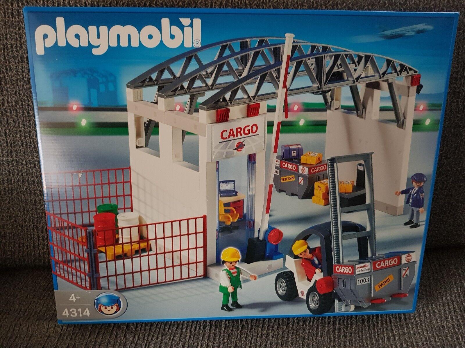 Playmobil Cargo Halle 4314 Neu Ovp